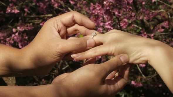 Thumbnail for Putting Wedding Ring