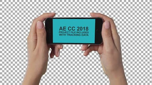 Smartphone In Hands Video Placeholder