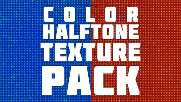 Thumbnail for Color Halftone Texture Pack