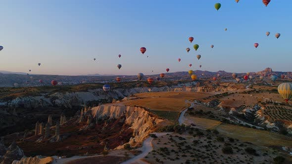 Thumbnail for Cappadocia Balloons Fairy Chimneys