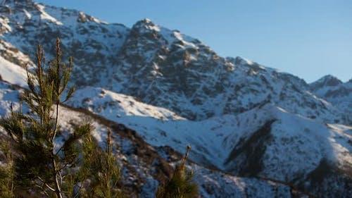 Morocco Atlas Mountains Snow Peaks Timelapse