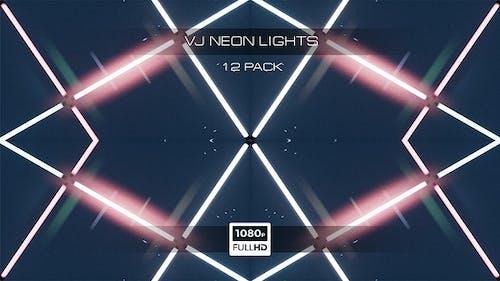 VJ Neon Lights - 12 Pack