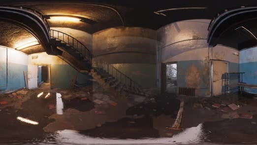 VR360 View of Abandoned Soviet Base