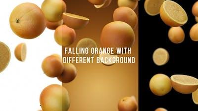 Falling Orange