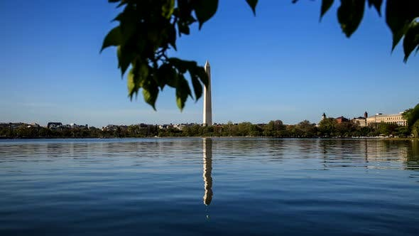 Thumbnail for Washington Monument Reflecting On The Lake 27