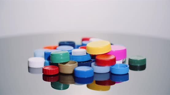 Thumbnail for Plastic Bottle Cap - Plastic Processing Recycling Industry