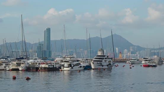 Thumbnail for Hong Kong Harbor, Typhoon Shelter