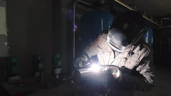 Argon Welding in Production