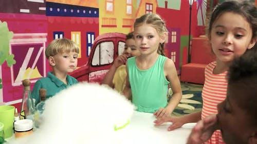 Liquid Nitrogen Show for Children