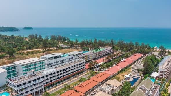 Thumbnail for Aerial Hyperlapse of the Coast of Phuket Island