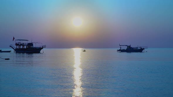 Thumbnail for Beautiful Sunrise Over the Mediterranean Sea
