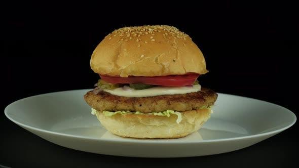 Thumbnail for Juicy American Burger