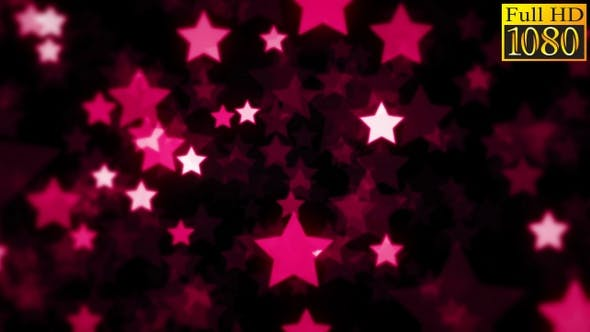 Bokeh Stars Background Loops Pack V2