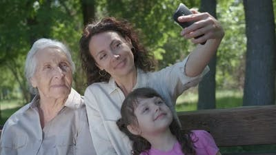 Photo with Grandmother