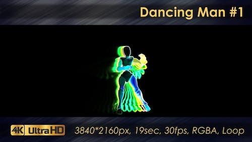 Tanzender Mann 1