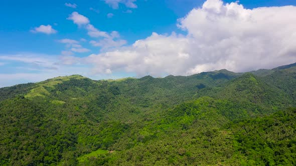 Thumbnail for Mountains Covered By Rainforest, Top View. Luzon Island Philippines