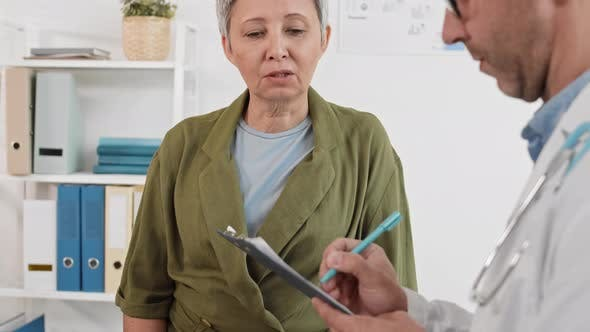 Thumbnail for Patient at Medical Appointment