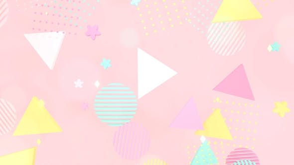 Thumbnail for Pink Stylish Geometric Shapes