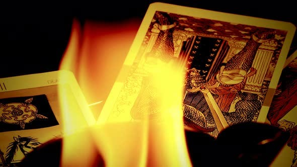 Thumbnail for Magical Witchcraft Fortune Teller Mystical Tarot Cards