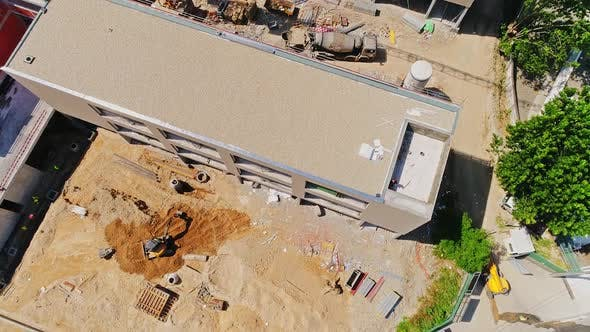 Thumbnail for Construction Building Site From Above