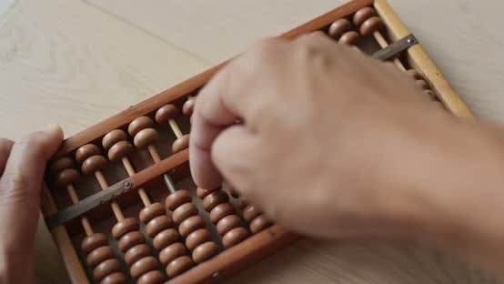 Thumbnail for Use of abacus for the calculation