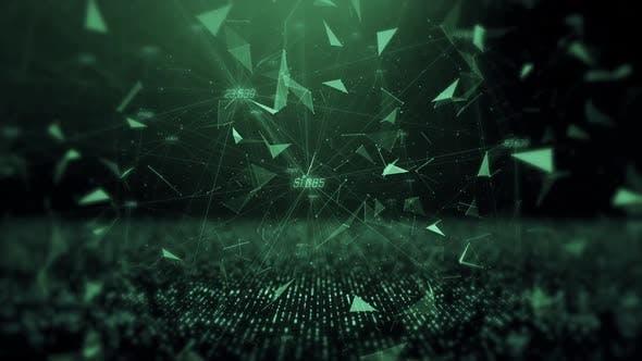 Digital Web Background Loop