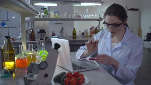 Thumbnail for Scientist Working in Microbiological Laboratory