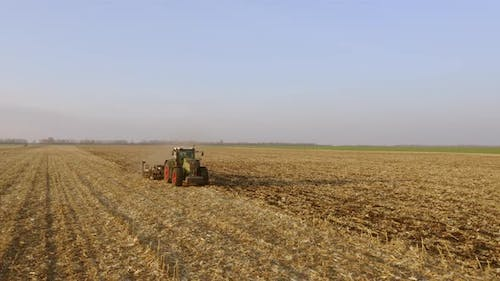 Agricultural Machine Working in the Field