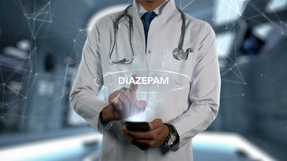 Thumbnail for Diazepam Male Doctor Hologram Medicine Ingrident