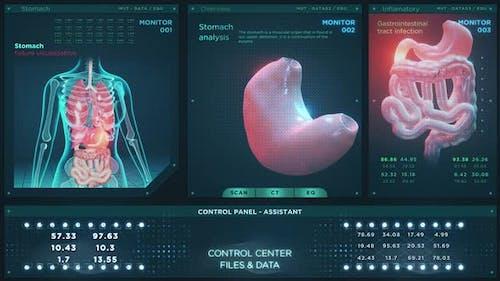 Medicine Stomach Analysis HUD