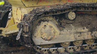 Landfill Bulldozer Caterpillar