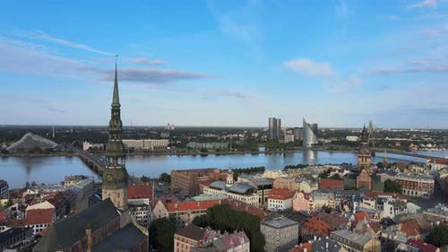 Riga in HDR colors