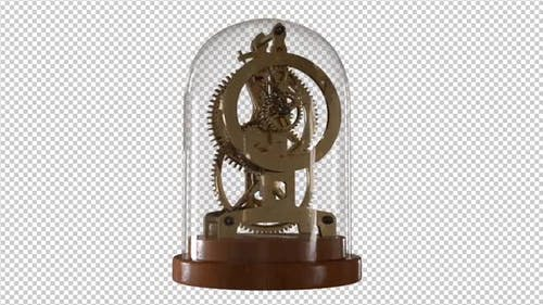 Vintage Gold Clock