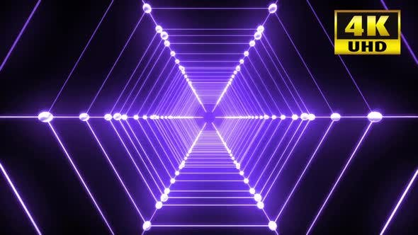 Cover Image for Hexagon Vj Loop Pack 4k