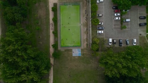 Sports in the Park Aerial