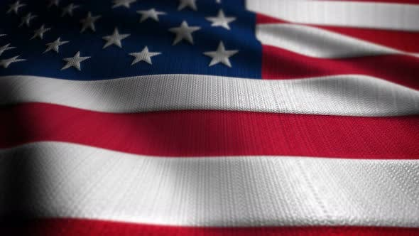 Thumbnail for United States Flag Seamless Loop