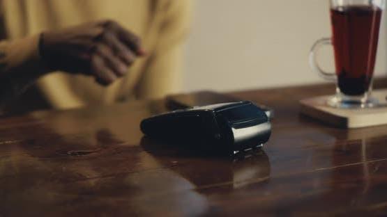 Crop Man Payant avec micropuce RFID pour café repas