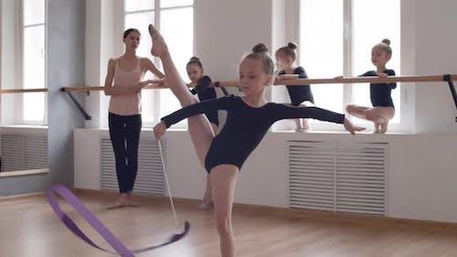 Modern Rhythmic Gymnastics Classes