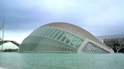 Valencia City Of Science & Arts, Spain