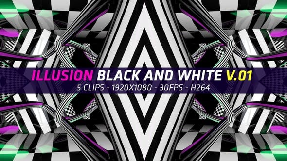 Thumbnail for Illusion Black And White V.01 (5 in 1)