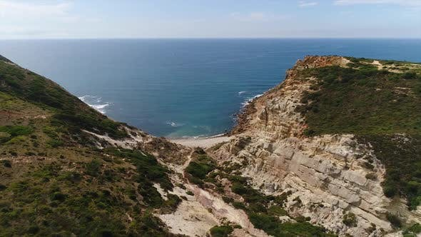 Thumbnail for Beautiful Sea Landscape From Flycam in Portugal