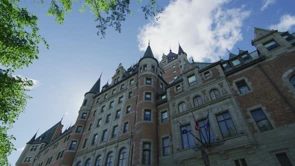 Thumbnail for Low angle view of Chateau Frontenac