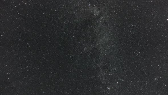 Thumbnail for Milky Way and Stars Moving Across the Night Sky, Time Lapse