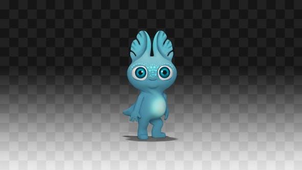 Monster Alien Tanz