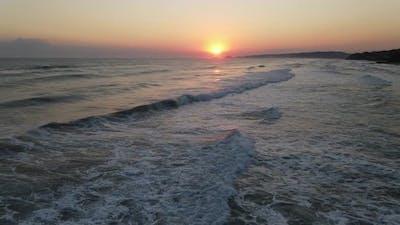 Sunrise Ocean Sea Waves