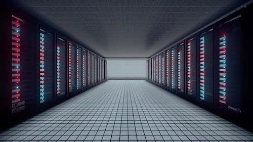 Datenbankserver-Raum Hd