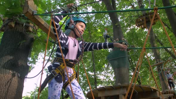 Thumbnail for The Girl Adventure Rope Park