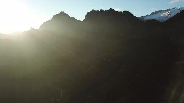 Thumbnail for Italain Alps at Sunrise, Passo Pordoi, Dolomites, Italy