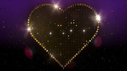 Valentines Herz Glitter 7