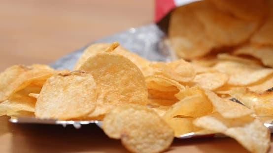 Thumbnail for Eating potato chip